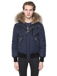 Mackage Dixon Down Bomber Jacket W Fur