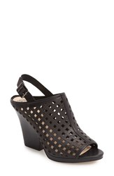 Vince Camuto Women's Janay Diamond Perforated Slingback Sandal