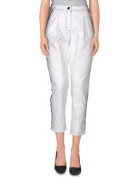 Escada Denim Denim Trousers Women White