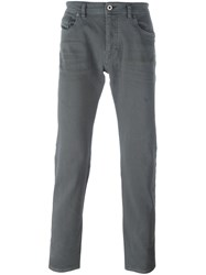 Diesel Black Gold Regular Trousers Grey