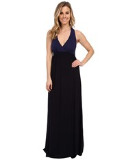 Hard Tail Twisty Back Maxi Dress Ink Women's Clothing Navy