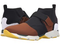 Marni Color Block Neoprene Sneaker Sandal Hybrid Brown Men's Shoes