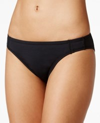 Anne Cole Locker Solid Hipster Bikini Bottom Women's Swimsuit Black