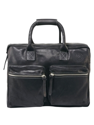 Tog 24 Burford Leather Holdall Black