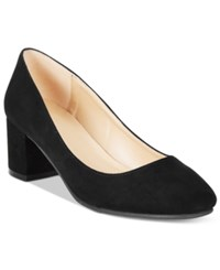 Wanted Amelia Block Heel Pumps Women's Shoes Black