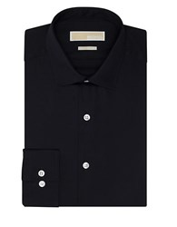 Michael Michael Kors Slim Fit Dress Shirt Black