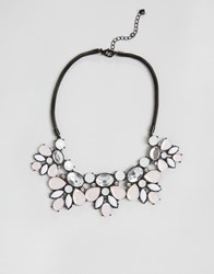 Oasis Statement Necklace Light Pink