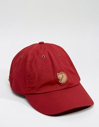 Fjall Raven Fjallraven Helags Cap In Red Red