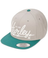 Hurley Men's Bolts Hat Wolf Grey