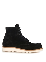 Mr. Hare Hannibal Lace Up Suede Boots