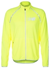 New Balance Beacon Sports Jacket Hilite Hil Neon Yellow