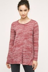Anthropologie Parkway Tunic Wine