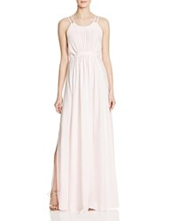Whistles Buena Gathered Waist Gown 100 Bloomingdale's Exclusive Pink