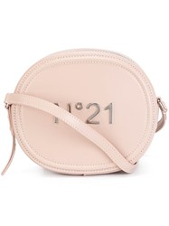 N 21 No21 Round Crossbody Bag Pink And Purple