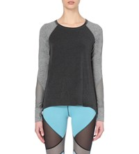 Sweaty Betty Natha Jersey Yoga Top Black