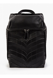 Alexander Wang Men's Black Leather And Neoprene Backpack