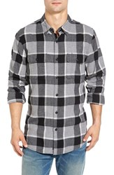 Lucky Brand Men's 'Miter' Trim Fit Plaid Sport Shirt