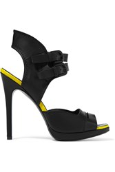 Mcq By Alexander Mcqueen Leather Sandals Black