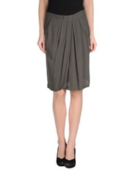 Massimo Rebecchi Knee Length Skirts Lead