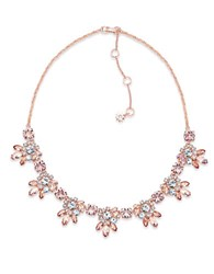 Marchesa Collar Necklace Rose Gold