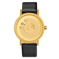 Projects Watches Reveal Watch Brass Black