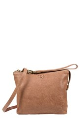Will Leather Goods 'Opal' Crossbody Bag Beige Taupe
