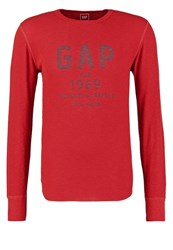 Gap Long Sleeved Top Red Spice
