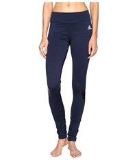Adidas Warmer Tights Collegiate Navy Women's Workout
