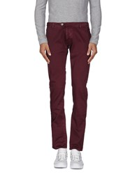 Cesare Paciotti 4Us Trousers Casual Trousers Men Maroon