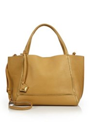 Botkier New York Soho Zipper Trimmed Leather Tote