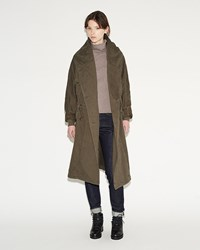 Kapital Katsuragi Tall Ring Coat Khaki