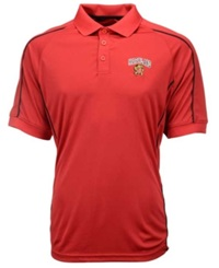 Colosseum Men's Maryland Terrapins Pitch Polo Red