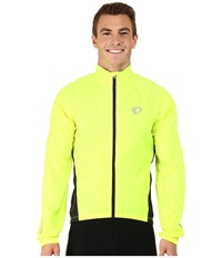 Pearl Izumi Elite Barrier Cycling Jacket Screaming Yellow Men's Coat