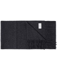 Wood Wood Tadd Scarf Grey