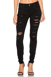 Joe's Jeans The Icon Ankle Distressed Black