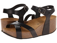 Eric Michael Veda Black Women's Wedge Shoes