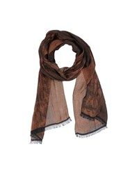 Paolo Di Matteo Accessories Oblong Scarves Men Brown