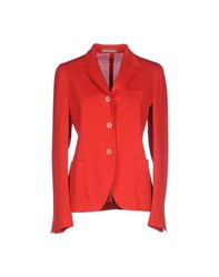 Boglioli Suits And Jackets Blazers Women Red