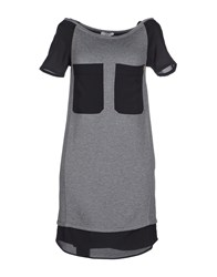 Violet Dresses Short Dresses Women Grey