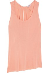 Splendid Yuma Modal And Silk Blend Tank Peach