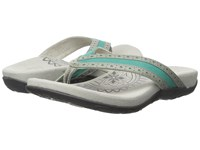 Aetrex Kim Turquoise Women's Sandals Blue