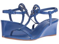 Tory Burch Miller 60Mm Wedge Jewel Blue Women's Wedge Shoes