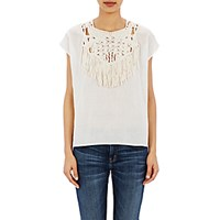 Ulla Johnson Women's Alaro Blouse Ivory
