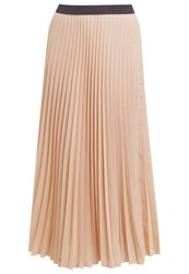Roberto Collina Pleated Skirt Rose