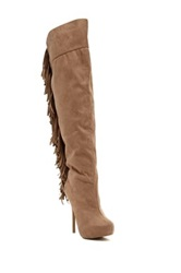 Legend Footwear Sonny Platform Stiletto Boot Brown
