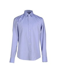 Boss Black Shirts Shirts Men Sky Blue