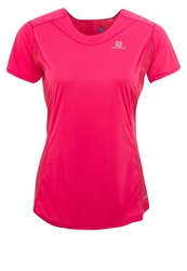 Salomon Sports Shirt Hot Pink Lotus Pink