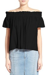 Lucca Couture Women's Off The Shoulder Blouse