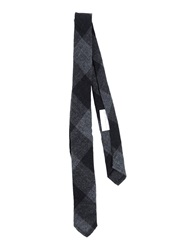 Mario Matteo Ties Steel Grey