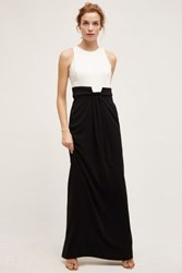 Anthropologie Castellana Gown Black And White